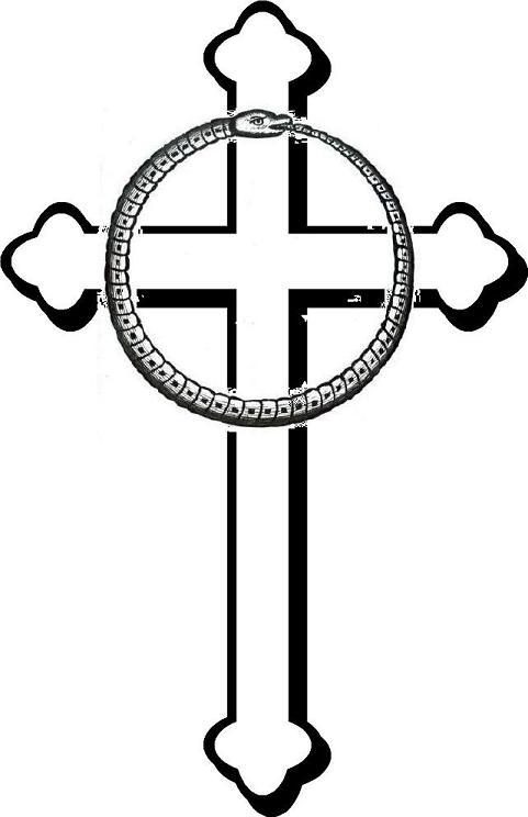 481x744 Death Clipart Catholic Cross