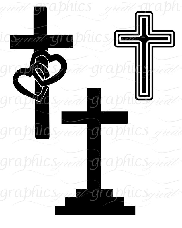 639x800 Wedding Clipart Cross