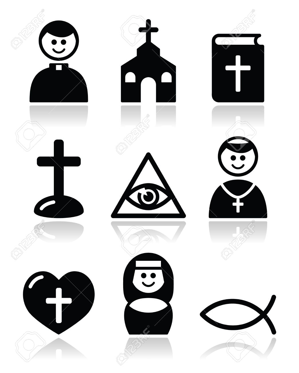 Catholic religion symbol free download best catholic religion 1044x1300 religion catholic church icons set royalty free cliparts vectors buycottarizona