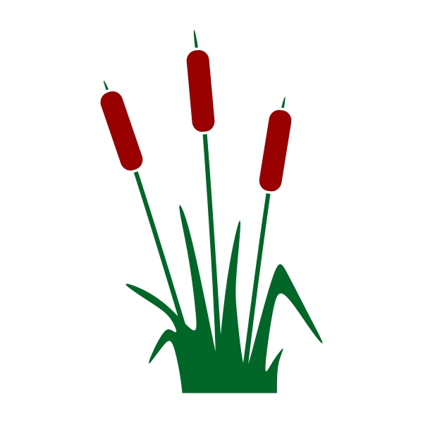 600x600 Cattails Pack Cuttable Design