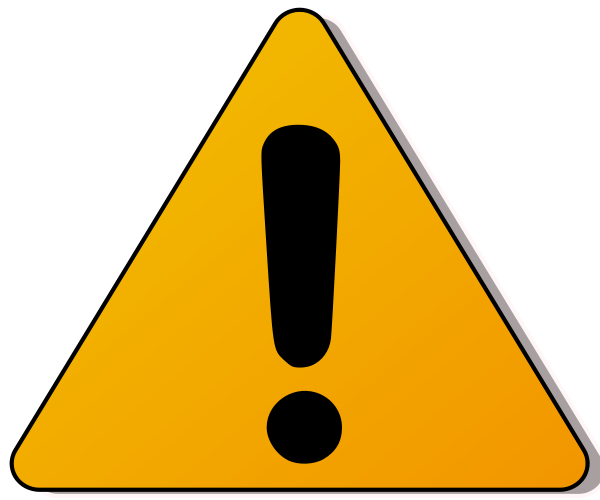 600x500 Danger Clipart Caution