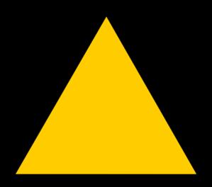 299x264 Empty Warning Symbol Clip Art