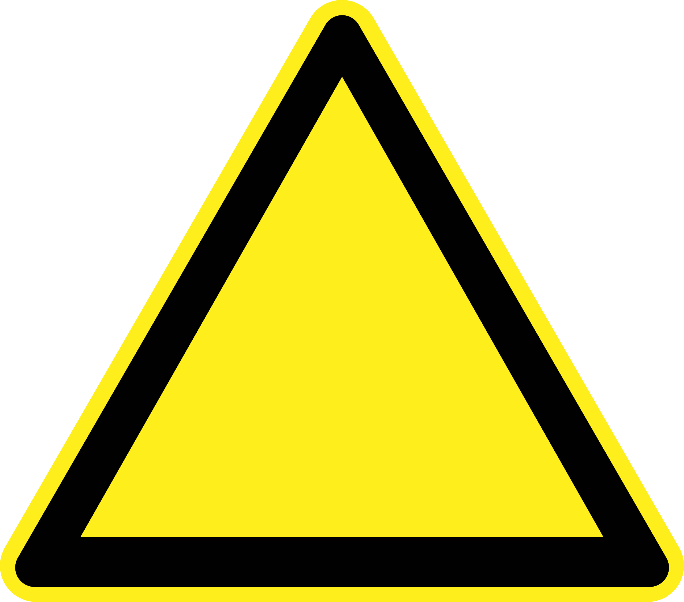 2400x2112 Sign Hazard Warning Clip Art