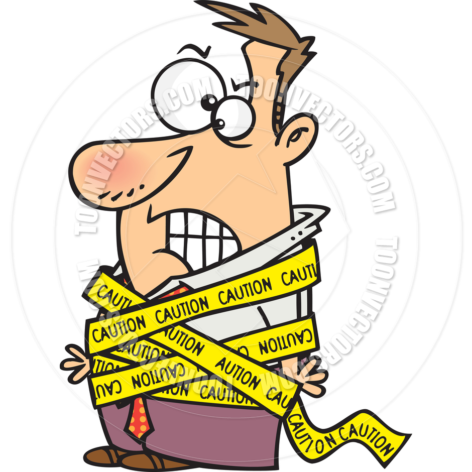 Caution Tape Clipart Free Download Best On Barricade Police Line 2 Inch X 300 M 940x940 Cartoon Man Wrapped In By Ron Leishman Toon Vectors