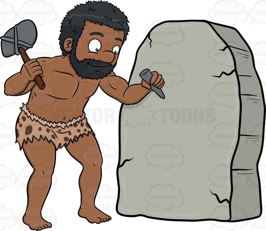 Cavemen Clipart