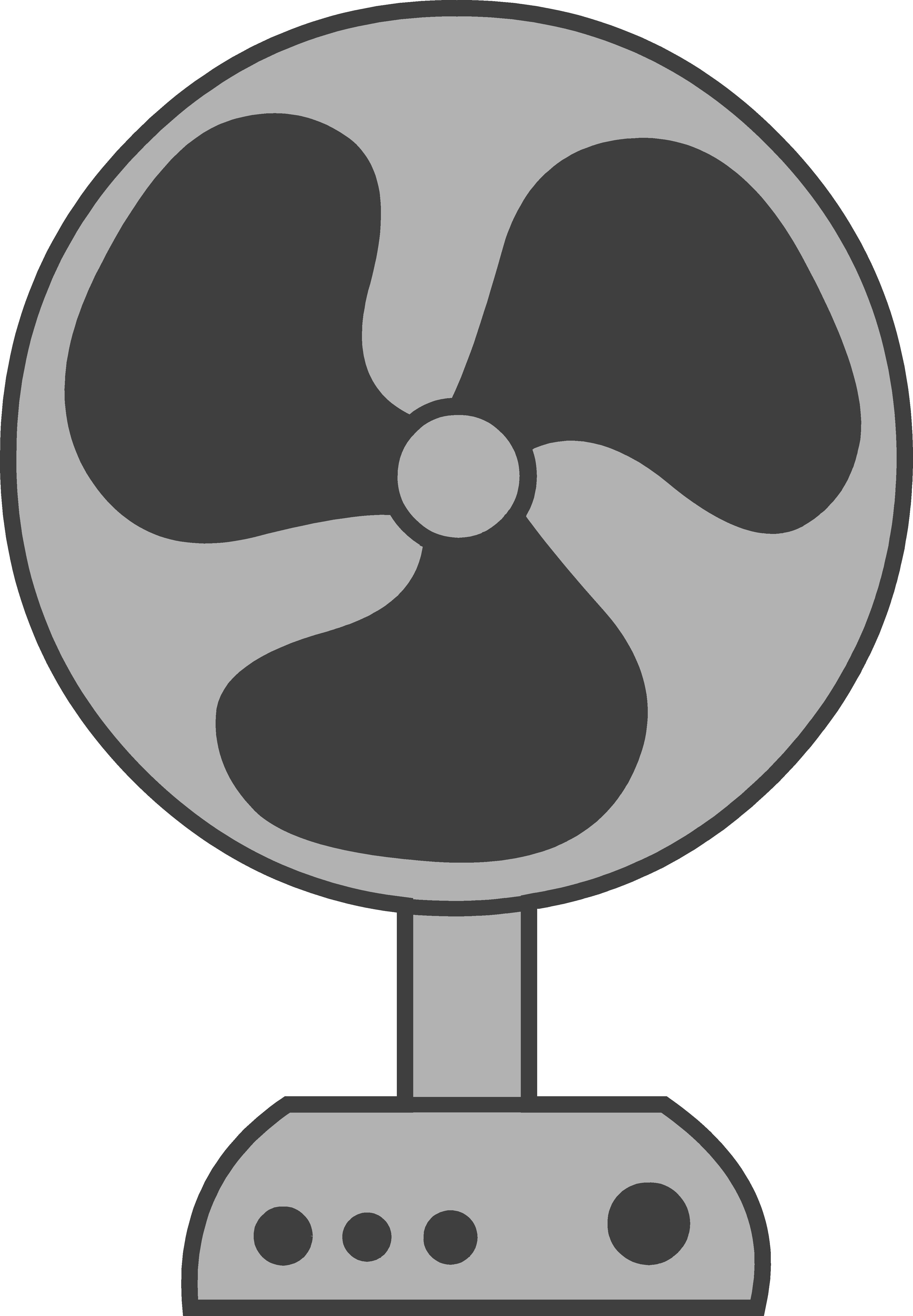 3955x5701 Fan Clipart