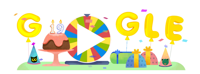 679x253 Google Doodle To Celebrate Google's 19th Birthday Metro News