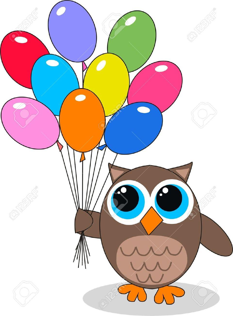 961x1300 Owlet Clipart Happy Birthday