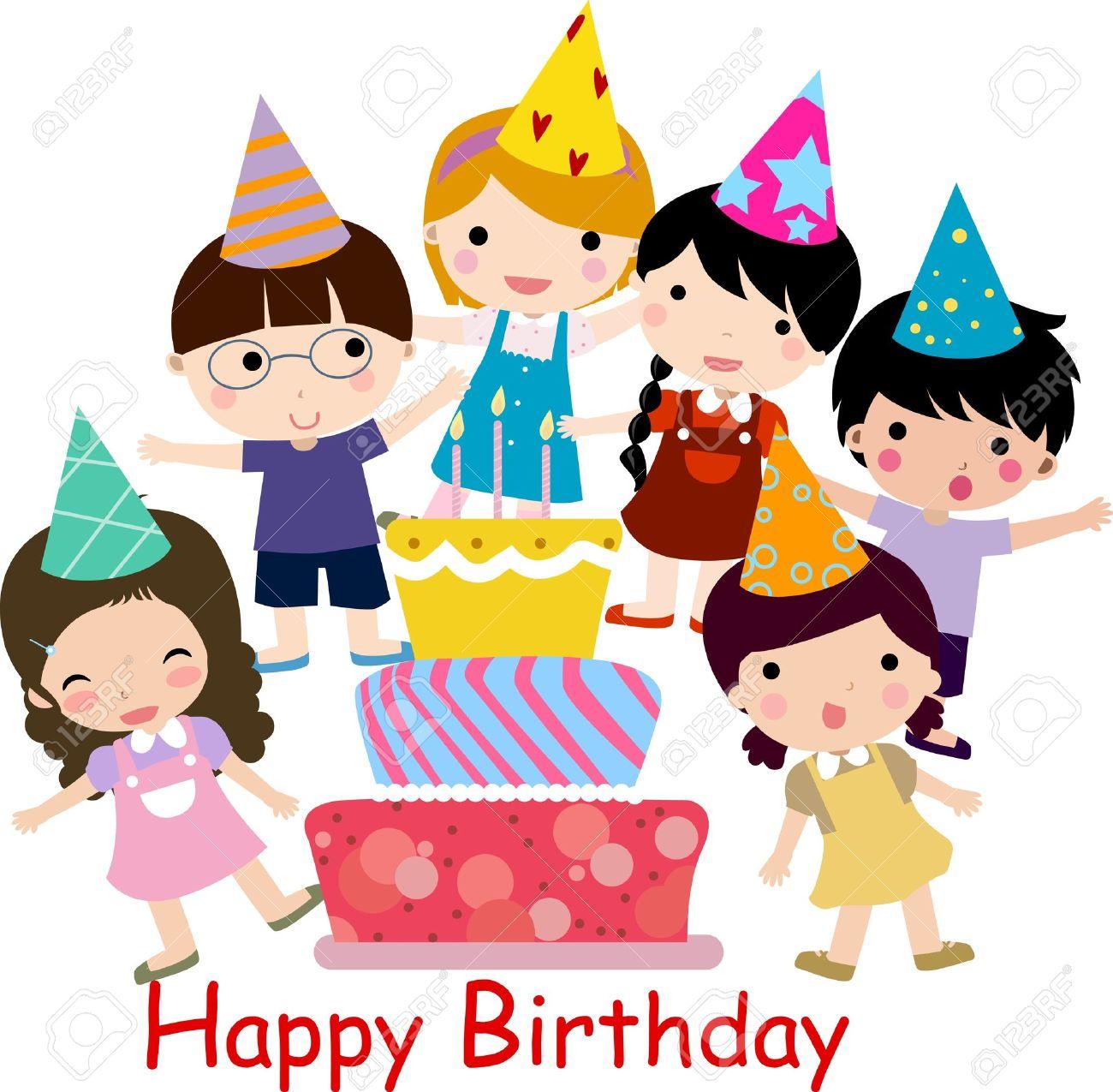 1300x1275 Birthday Celebration Royalty Free Cliparts, Vectors, And Stock
