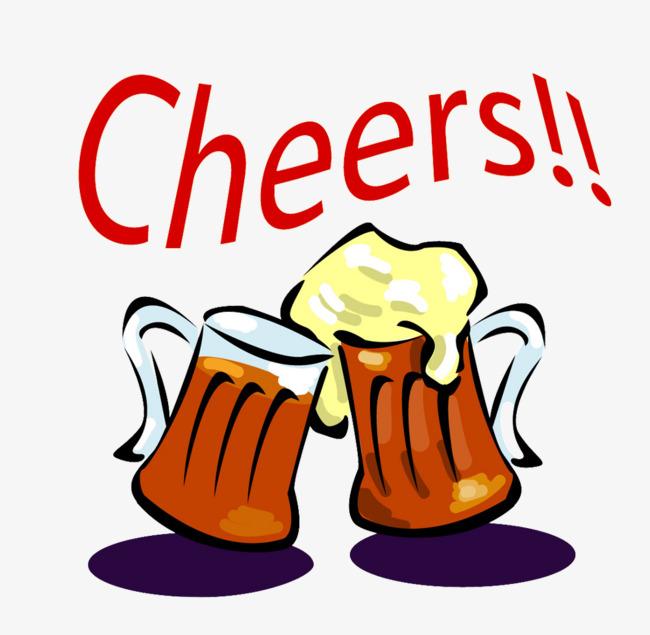 650x635 Cheers Celebration Cartoon Glasses, Cartoon Glasses, Beer Glasses