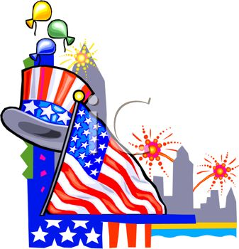 337x350 191 Best 4th July Clipart Images Celebrations