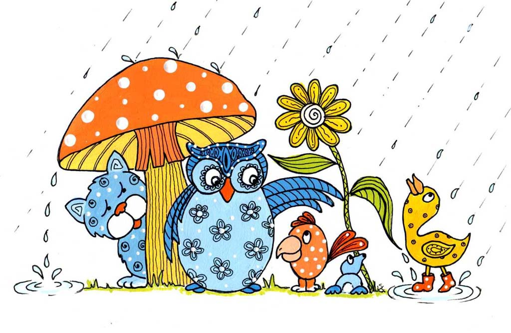 1024x667 April Showers Free Clipart