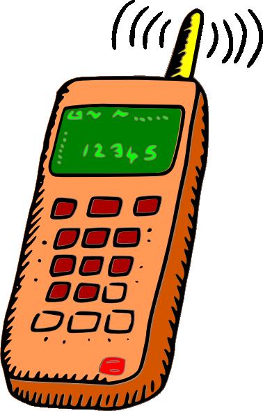 378x590 Analog Mobile Phone Clip Art