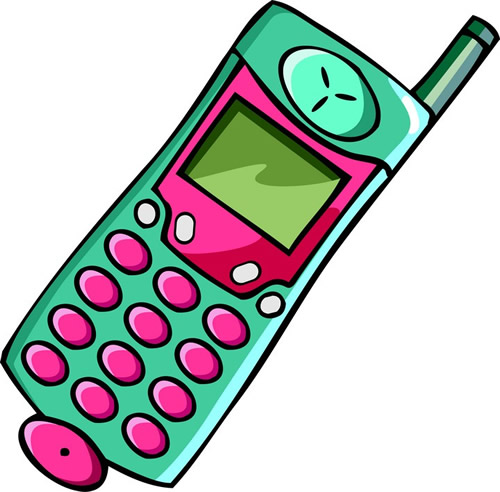 500x492 Animated Mobile Phone Clip Art 2