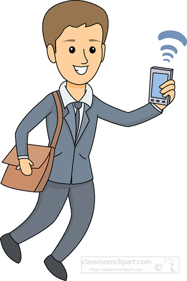 367x550 People Cell Phone Clipart