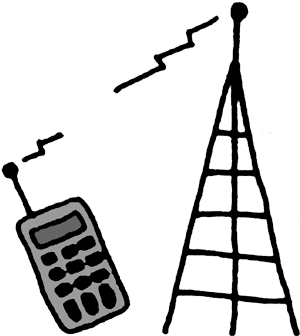 300x336 Cell Phone Tower Clipart 101 Clip Art