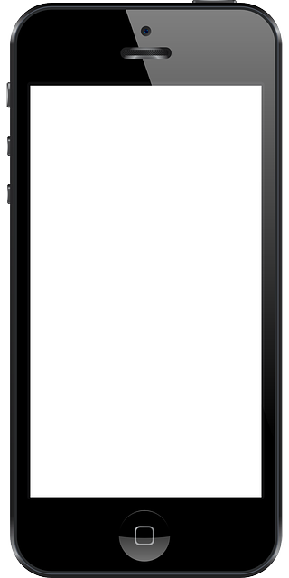 320x640 Free Smartphone Clipart Black And White Image