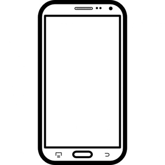 Cell Phone Clipart Black And White | Free download on ...