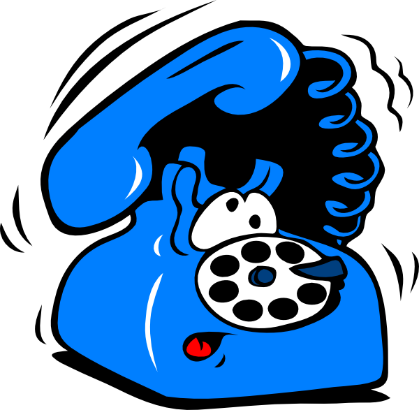 600x587 Cell Phone Ringing Clipart