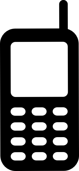 276x596 Mobile Phone Clip Art