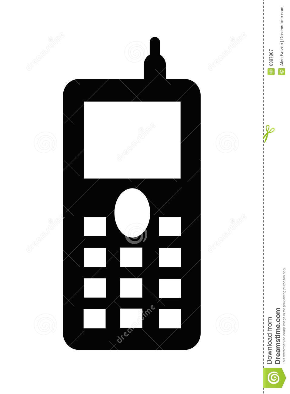957x1300 Telephone Outline Clip Art