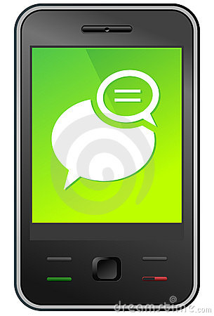 305x450 Text Message Clip Art
