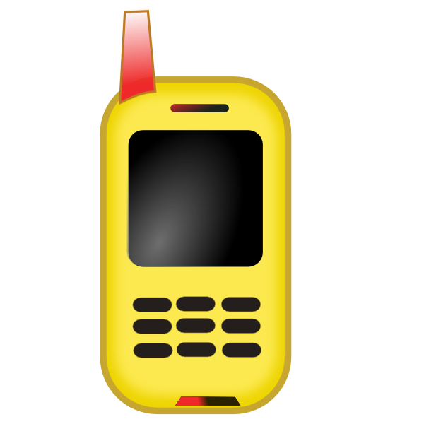 600x600 Toy Mobile Phone Clip Art