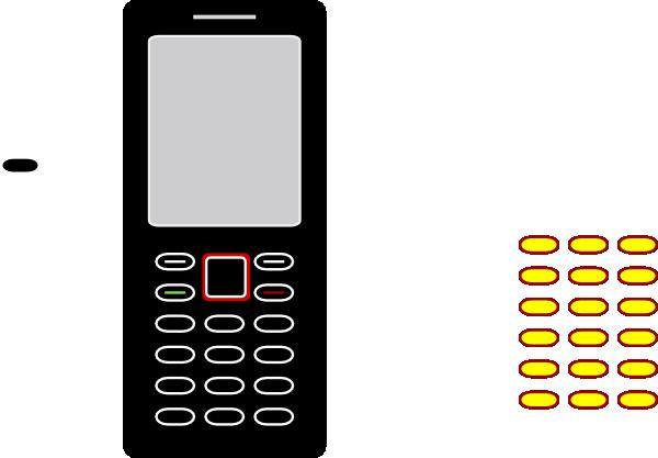600x417 Cellphone Clip Art