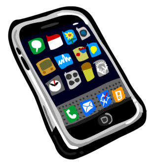 300x336 Clipart Cell Phone Use Collection