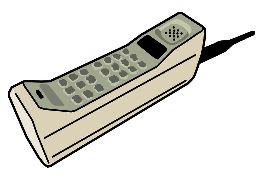 900x611 Old Cell Phone Clipart