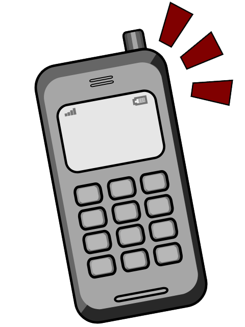 480x640 Cell Phone Clip Art