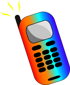 245x300 Text Clipart Cell Phone