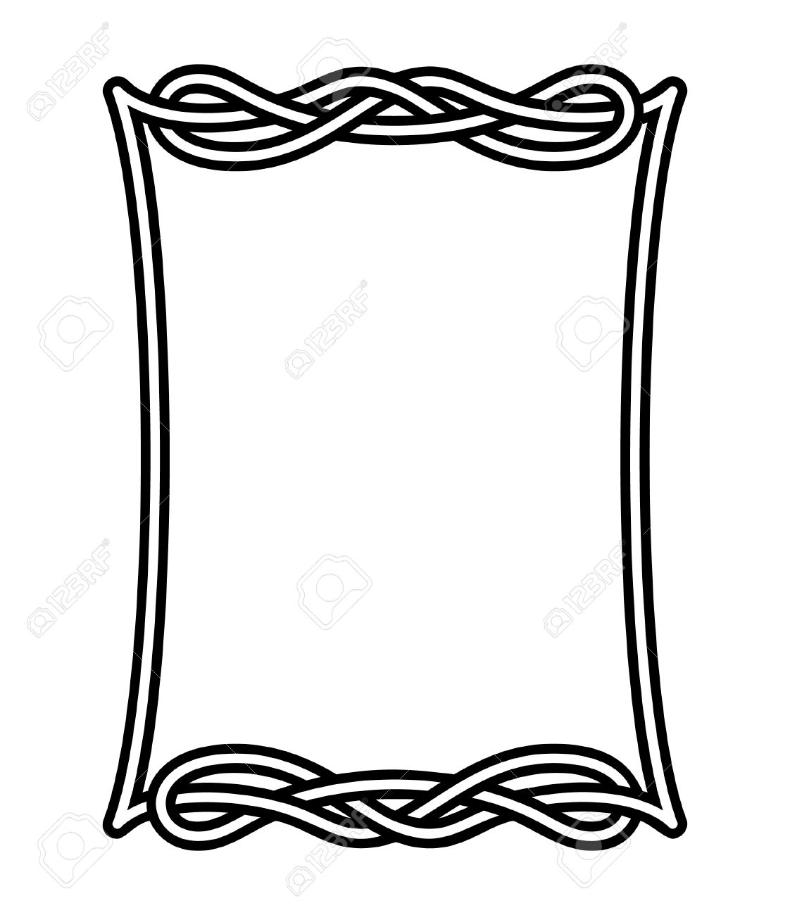 1122x1300 Celtic Frame 2 Royalty Free Cliparts, Vectors, And Stock