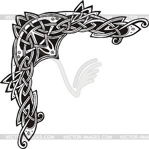 300x299 Celtic Knot Corner Clip Art