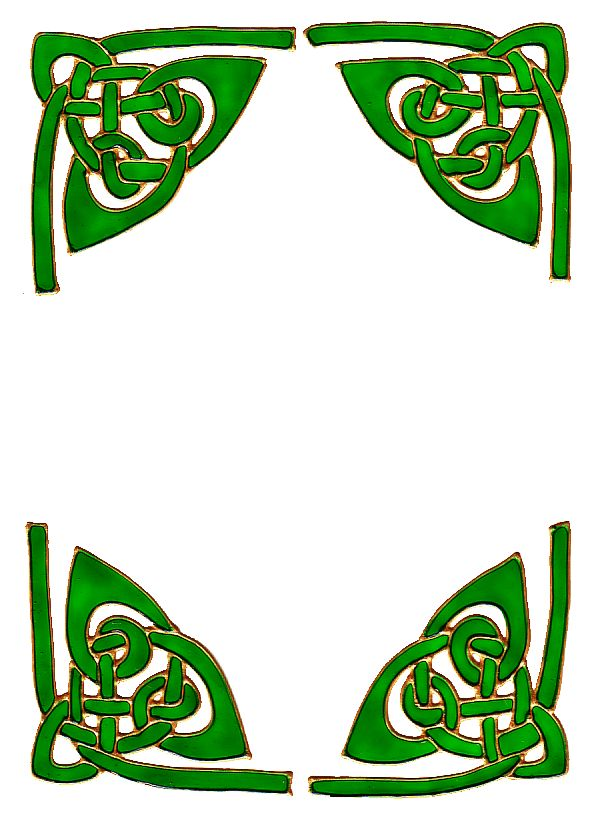 592x817 Border Designs Clip Art Celtic Borders Celtic Designs