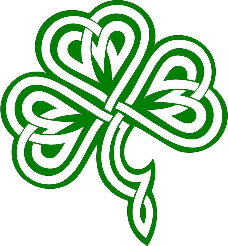 Celtic Shamrock Clipart
