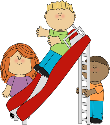 440x500 Kids Playing Clipart