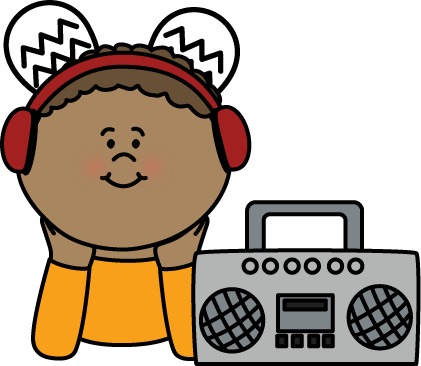 421x366 Listening Center Clip Art