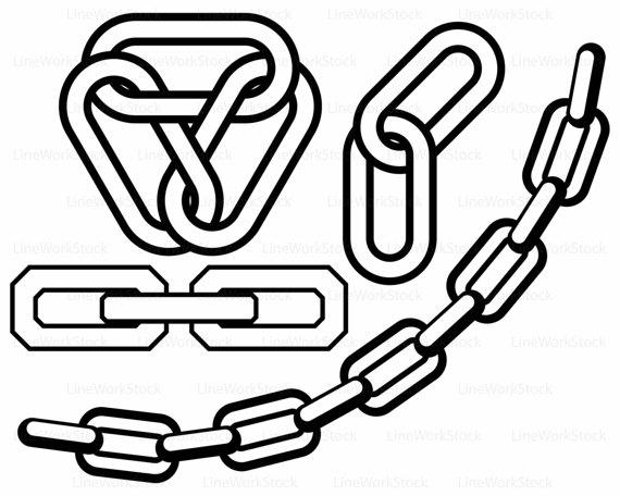570x456 Chain Svg,chain Clipart,chain Svg,chain Silhouette,chain Cricut