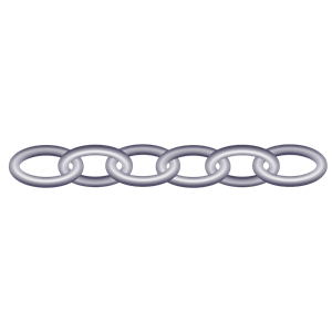 300x300 Lock And Chain Clipart