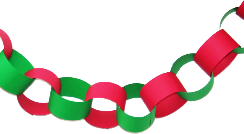 799x439 Paper Chain Link Clipart