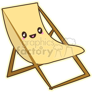 Chair Cartoon Clipart