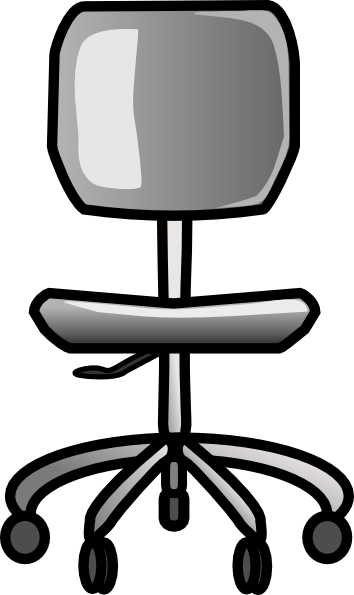 354x595 Office Chair Clip Art