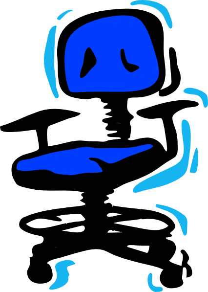 426x597 Swivel Office Chair Clip Art