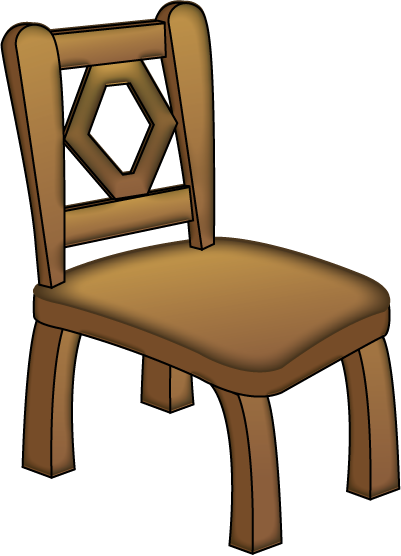 401x556 Free Clip Art Objects Household Objects Brown Chair
