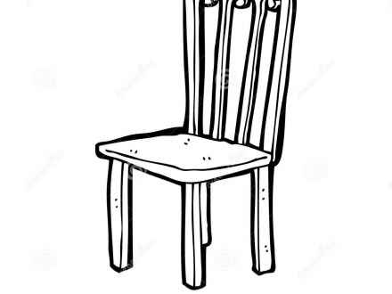 Chair Clipart Black And White | Free download on ClipArtMag