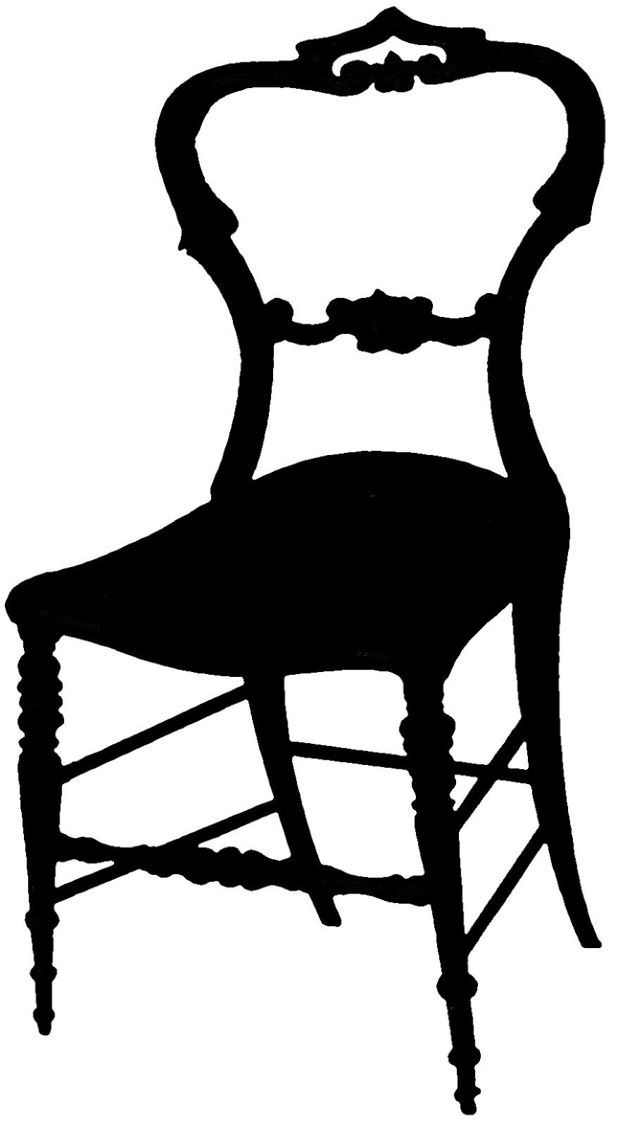 878x1600 Chair Silhouettes Clip Art