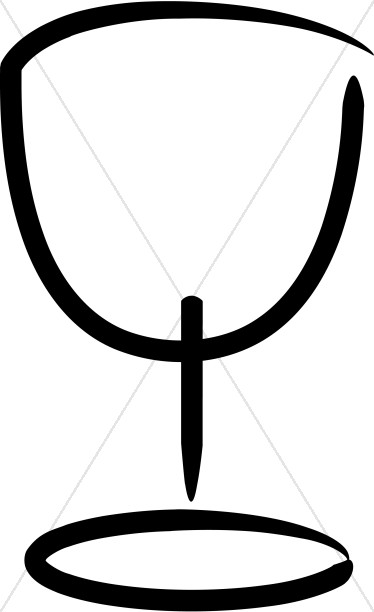 374x612 Chalice Clipart