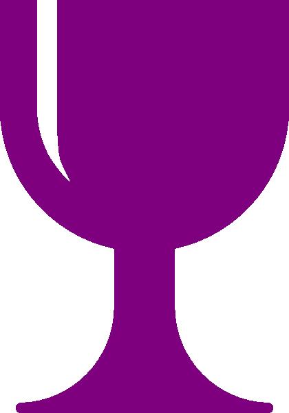 420x599 Purple Chalice Clip Art