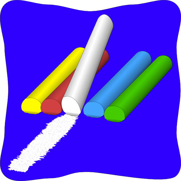 600x599 Chalk Clipart Many Interesting Cliparts